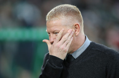 Livingston boss Gary Holt strikes a different tone to Celtic's Neil Lennon