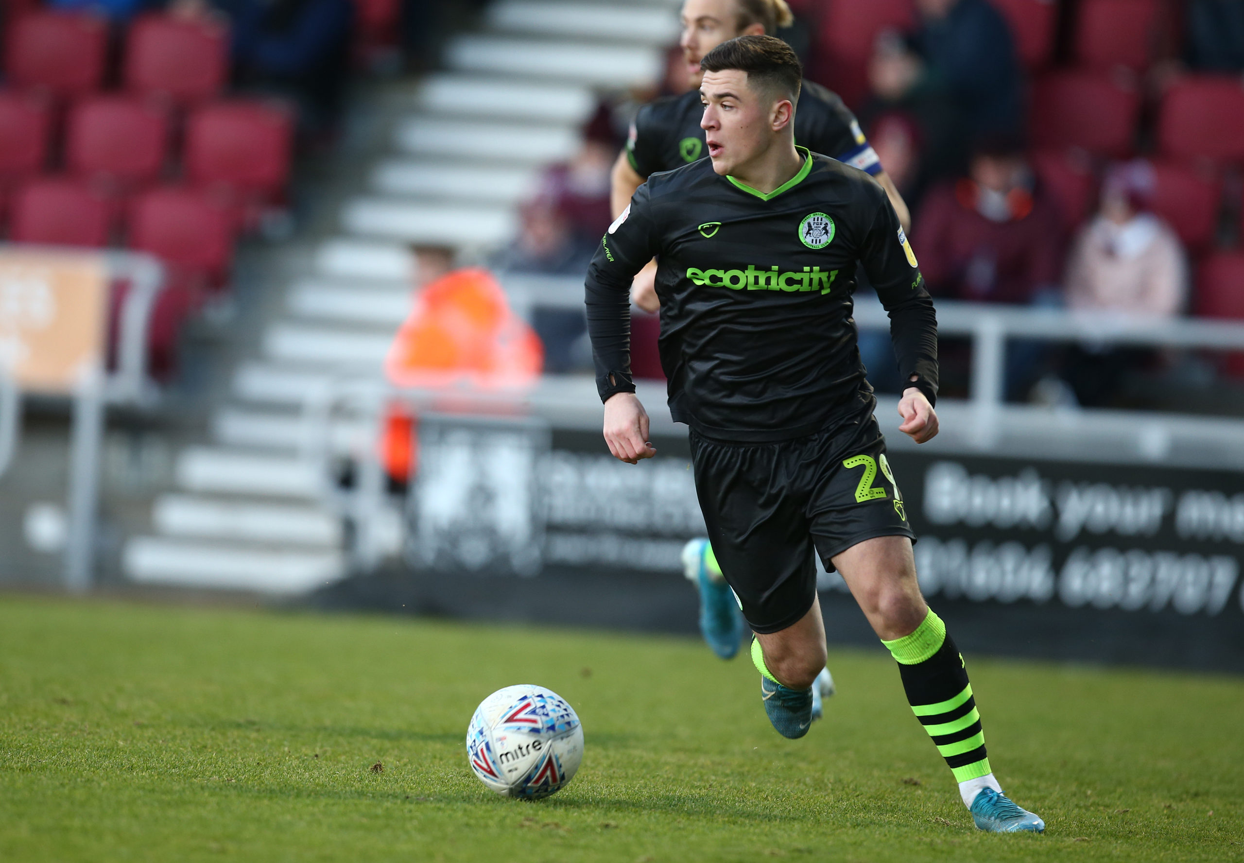 Jack Aitchison impresed with Forest Green Rovers last season