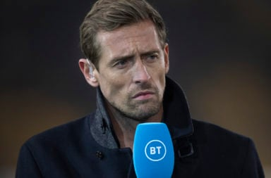 Former Liverpool striker Peter Crouch