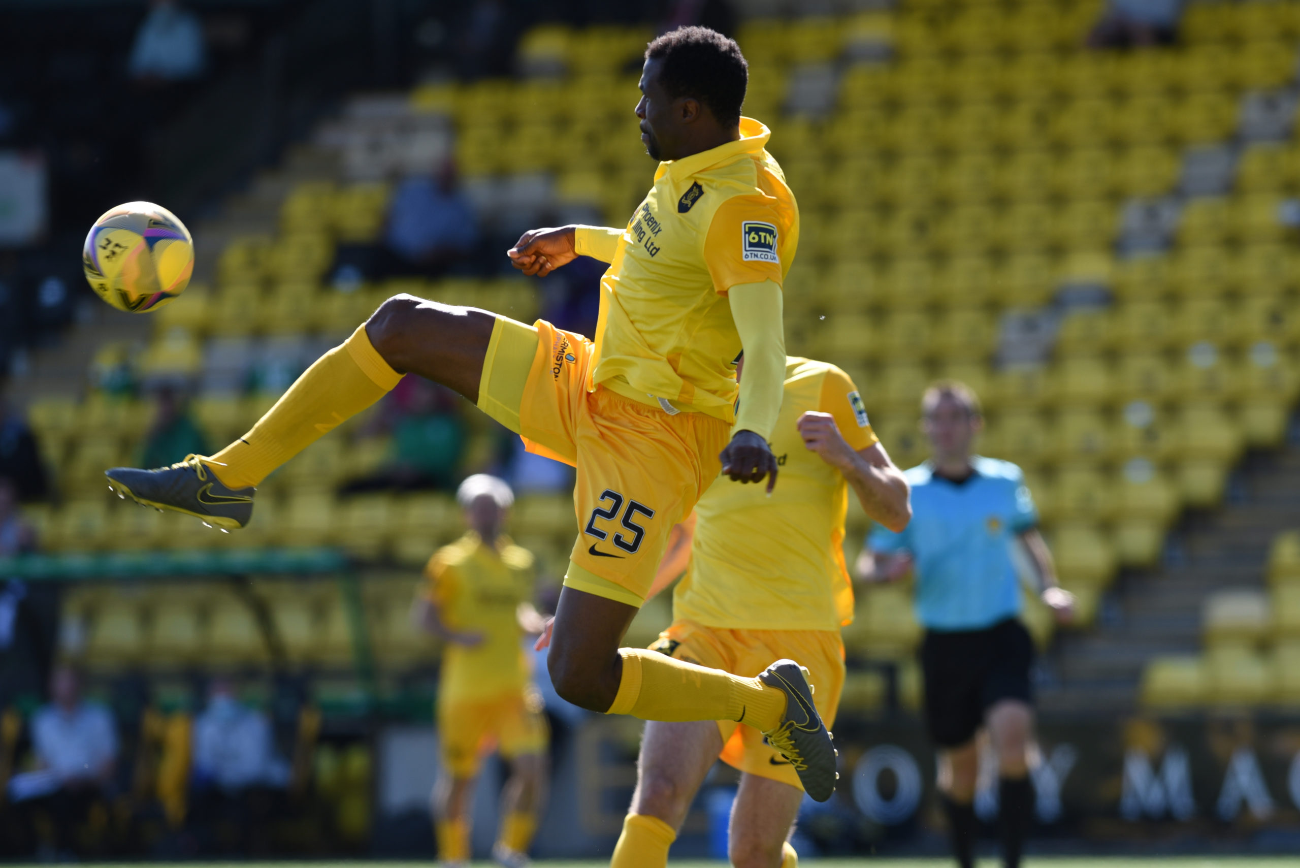 Ambrose in action for Livingston