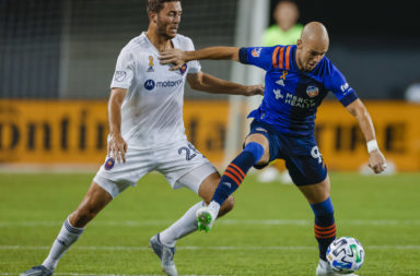 MLS sides Chicago Fire and FC Cincinnati in action