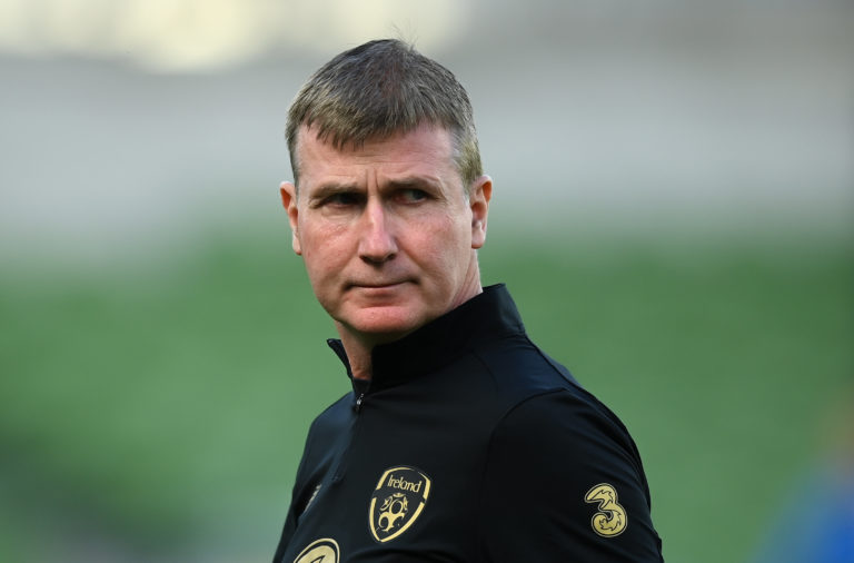 Republic of Ireland boss Stephen Kenny
