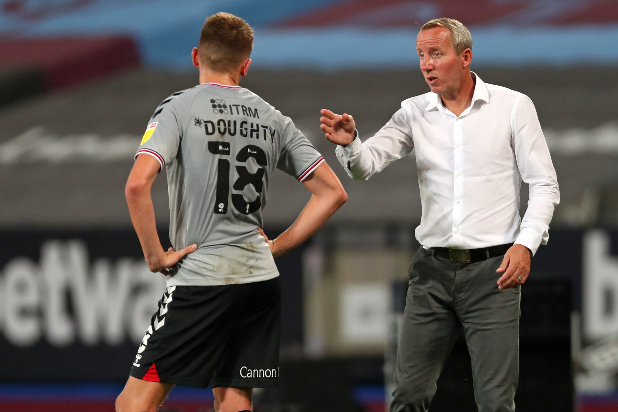 Lee Bowyer admits Alfie Doughty's injury is a bad one
