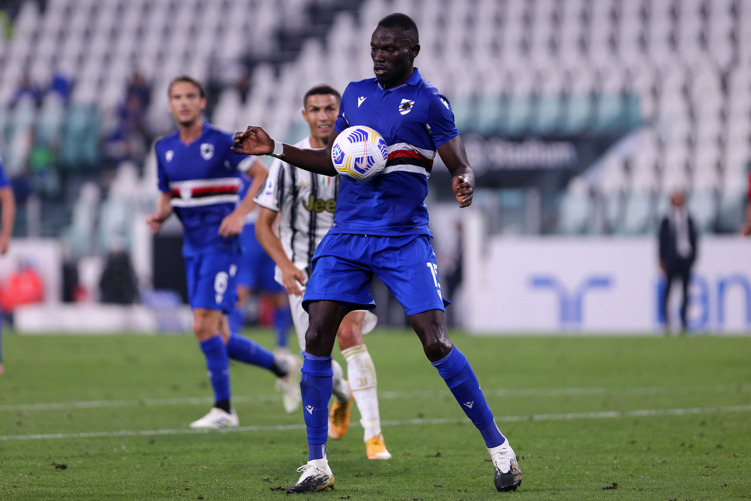 Omar Colley played against Juventus