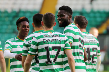 Odsonne Edouard and Ryan Christie must self-isolate