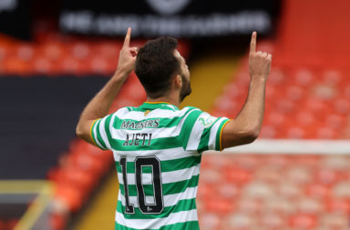 Albian Ajeti scoring for Celtic has been a rare sight