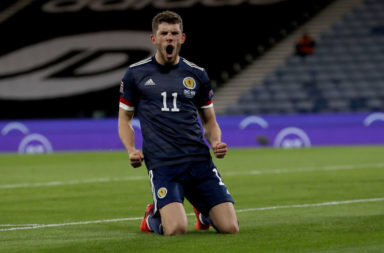 Ryan Christie scored for Scotland