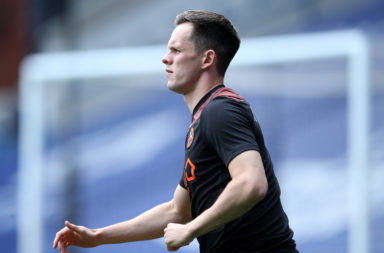 Dundee United striker Lawrence Shankland
