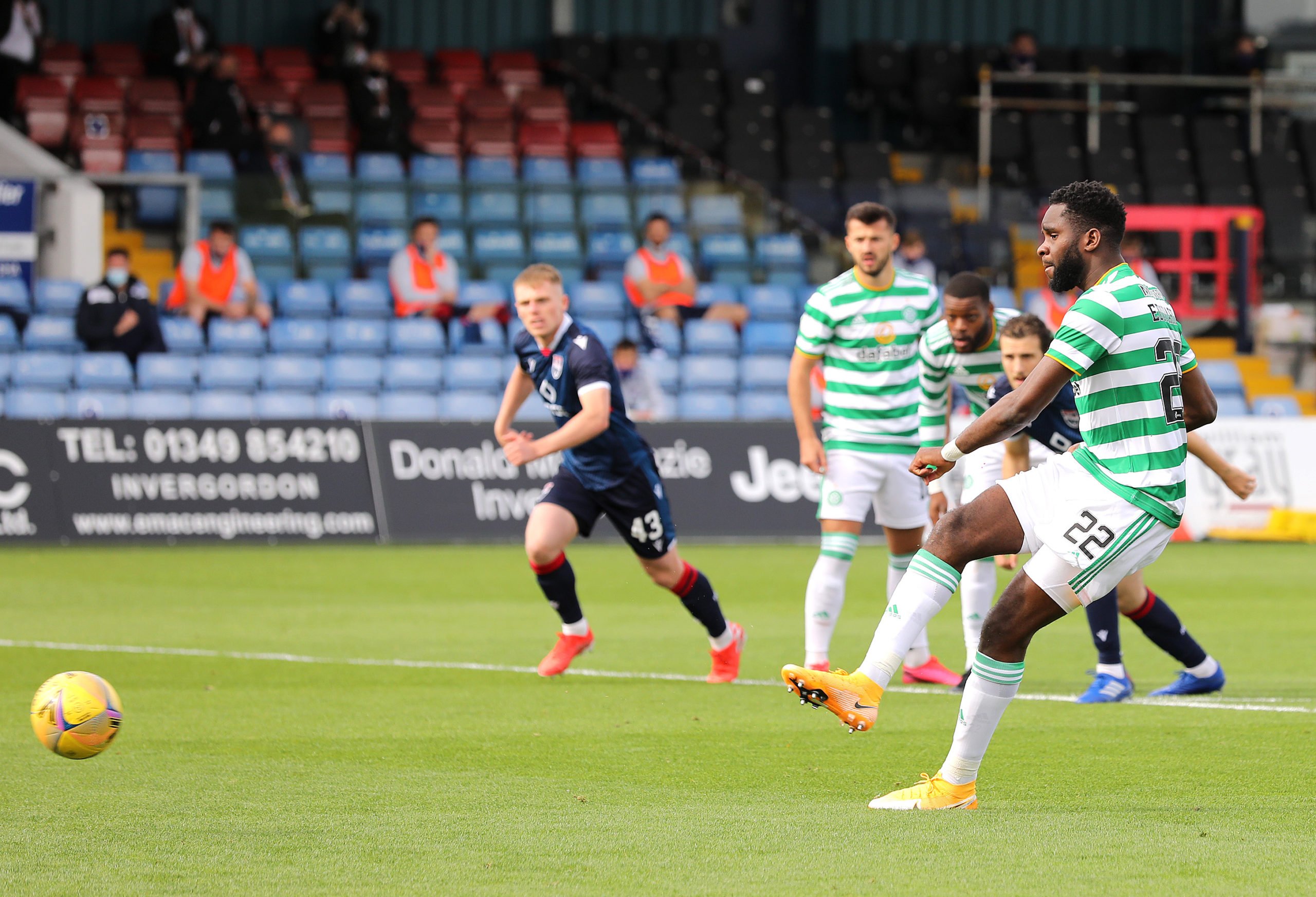 Odsonne Edouard scores for Celtic