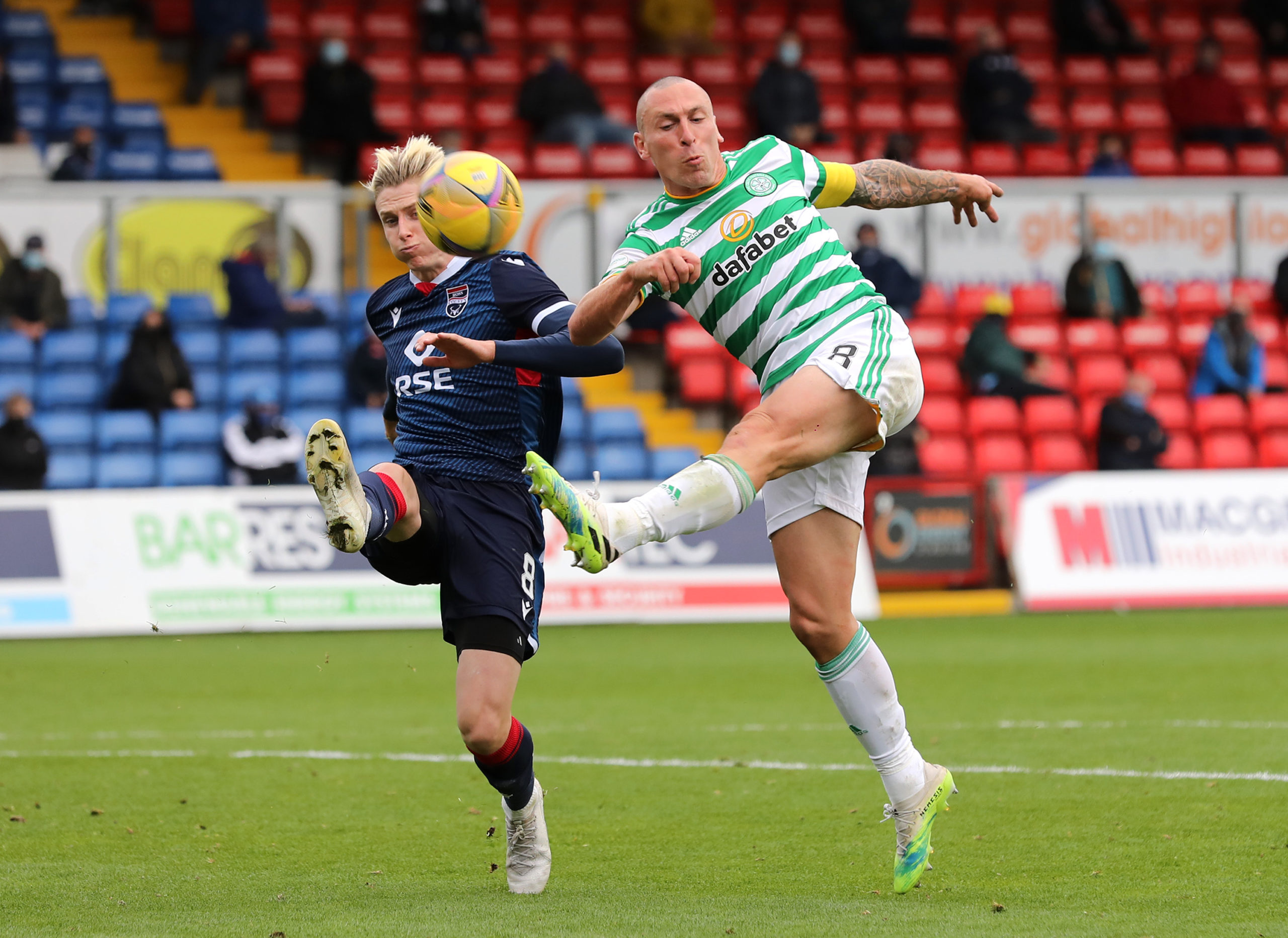 Scott Brown has started every game this season
