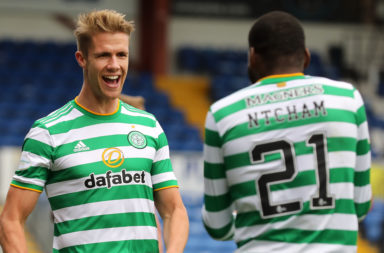 Kristoffer Ajer is in fine form