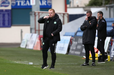 Neil Lennon gave Stephen Welsh a place on Celtic's bench on Sunday
