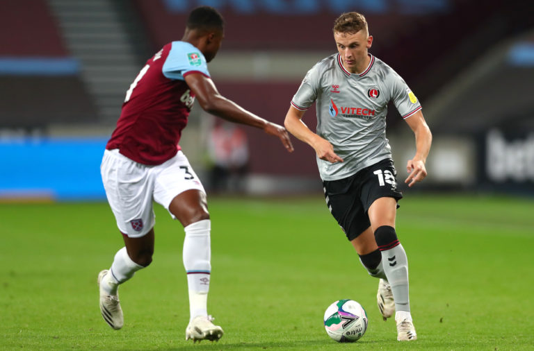 Alfie Doughty performed capably against West Ham