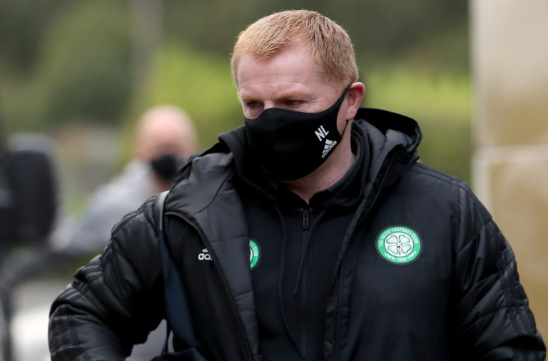 Celtic manager Neil Lennon ahead of St Mirren tonight