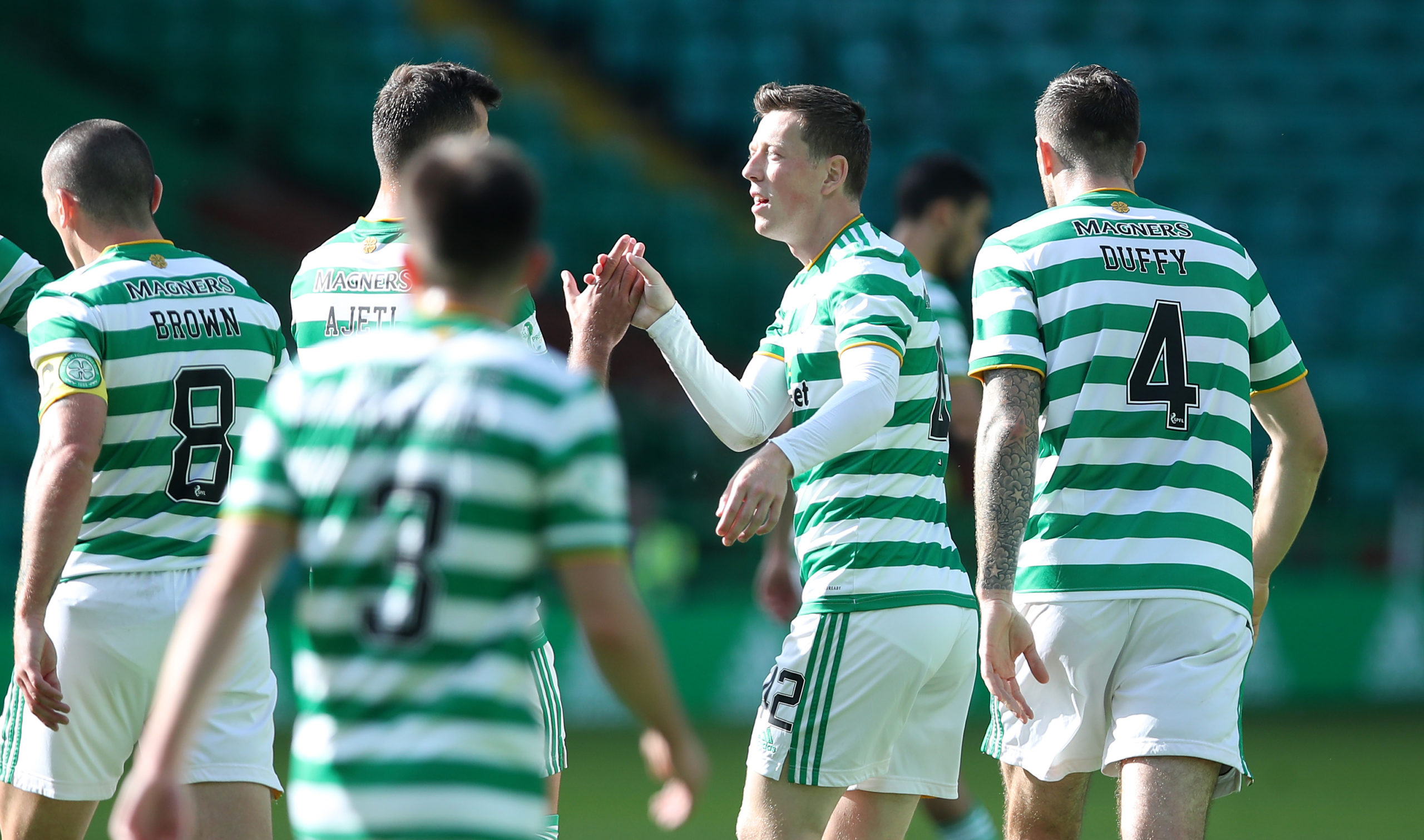 Celtic eventually overcame Livingston on Saturday