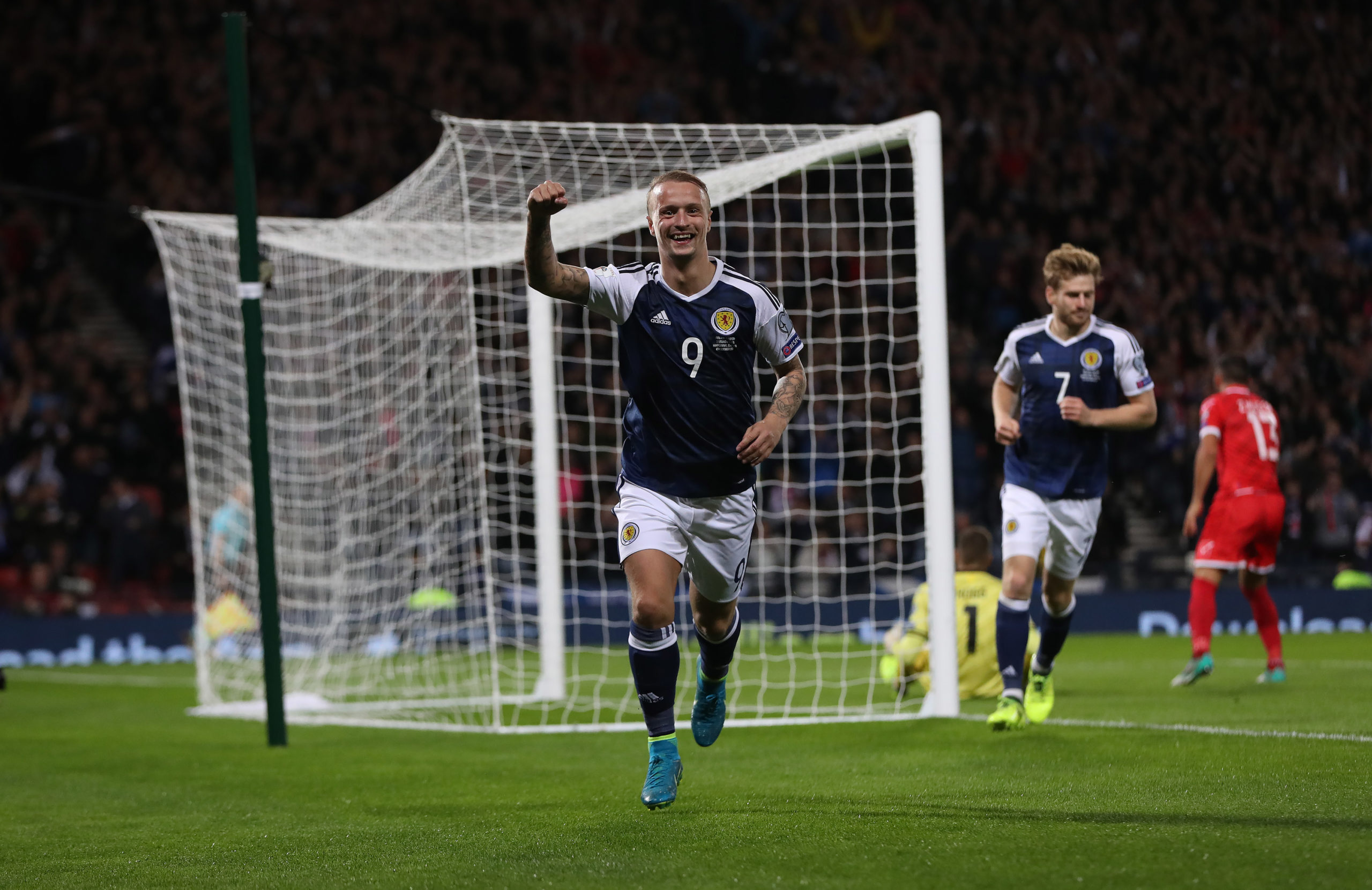 Celtic and Scotland striker Leigh Griffiths