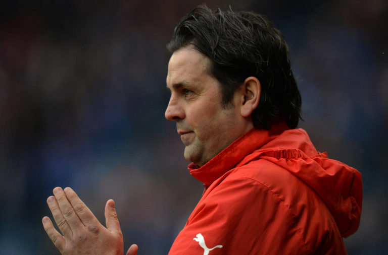Cove Rangers boss Paul Hartley