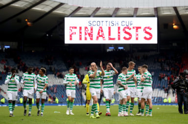 Celtic have a great recent record at Hampden