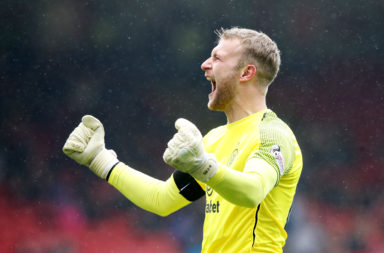 Celtic goalkeeper Scott Bain