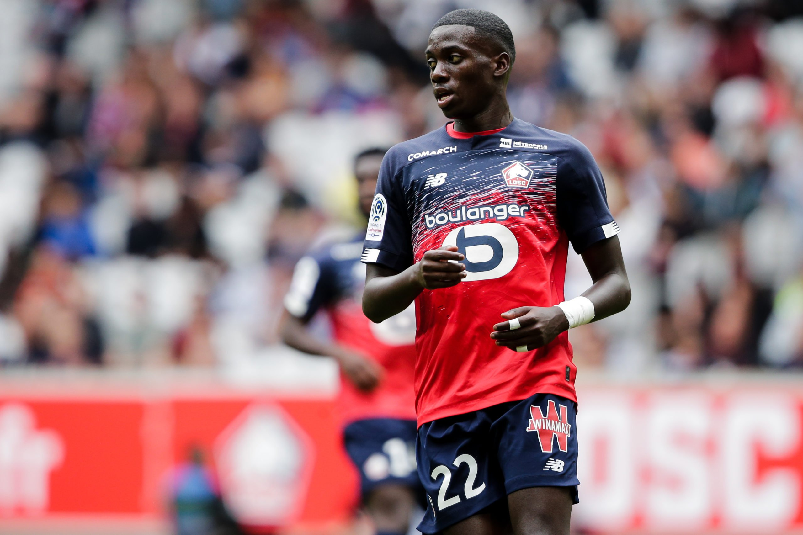 Weah is struggling at Lille