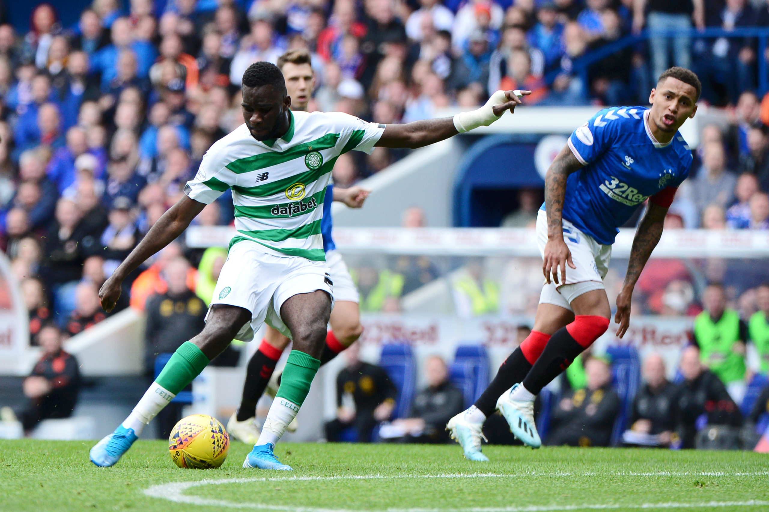 Celtic star Odsonne Edouard needs to produce against Rangers in the Scottish Cup
