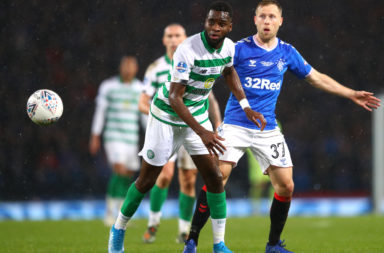 Odsonne Edouard playing in last season's Betfred Cup Final