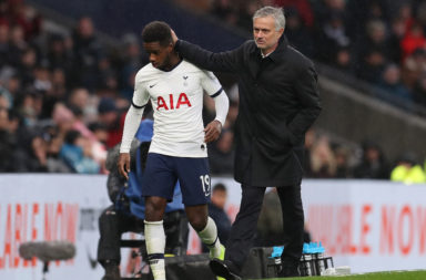 Jose Mourinho and Ryan Sessegnon