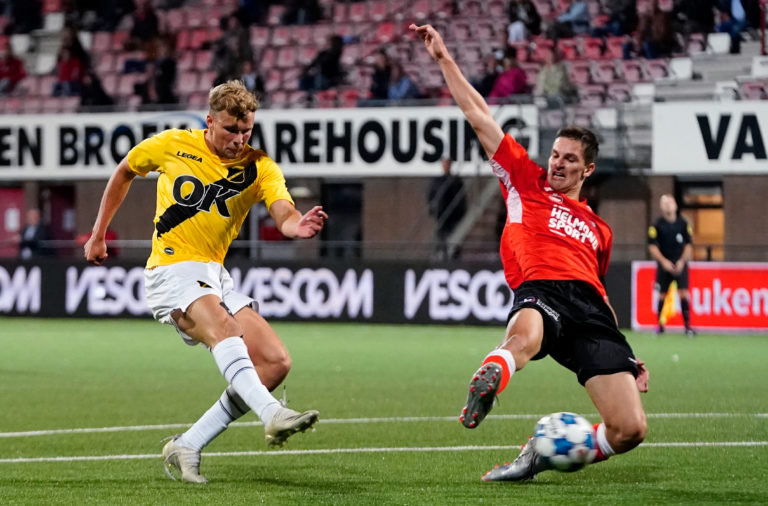 Sydney van Hooijdonk in action for NAC Breda