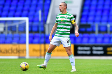 Celtic captain Scott Brown