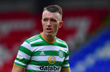 Celtic midfielder David Turnbull