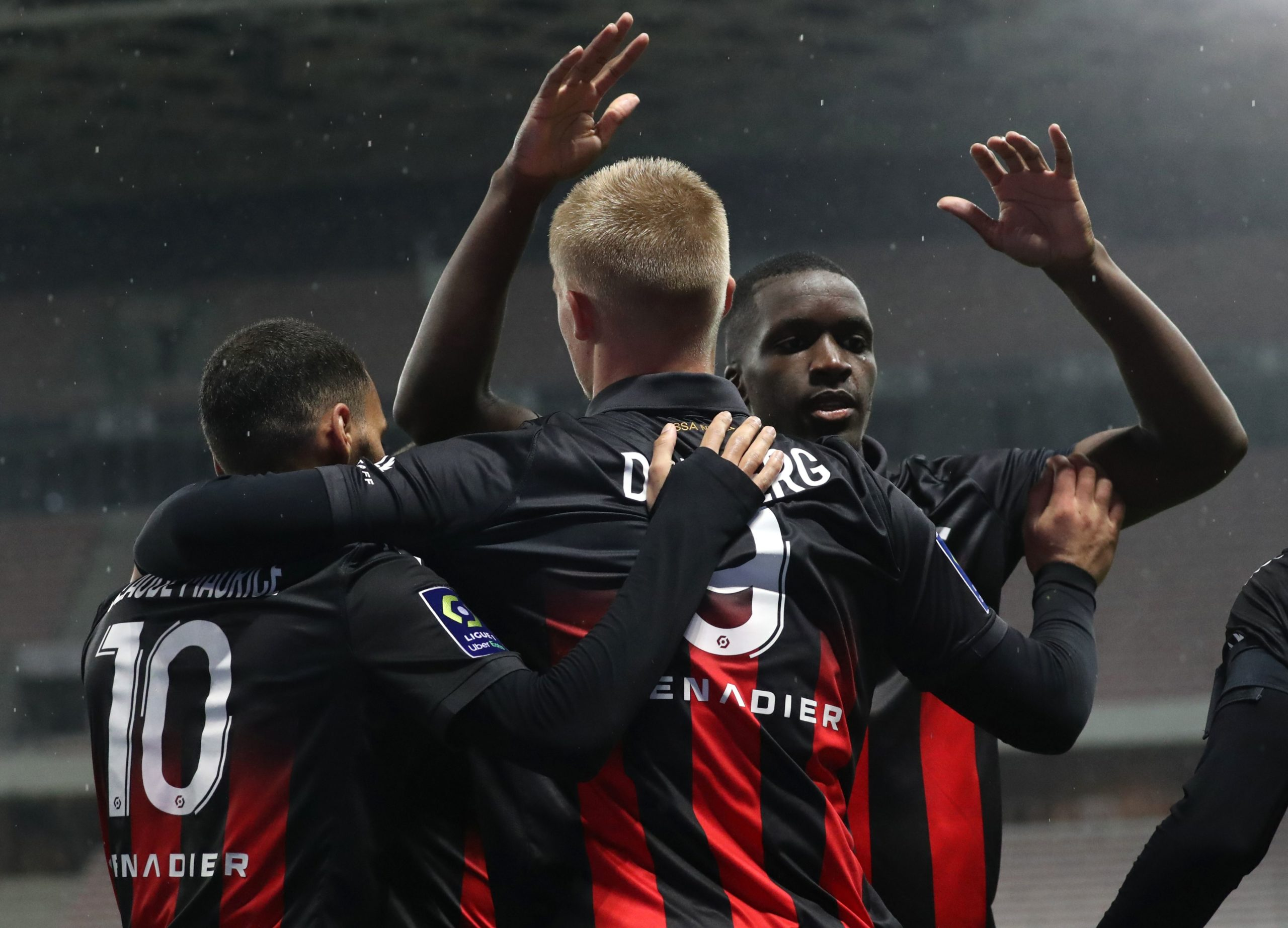Lille conceded first against Nice