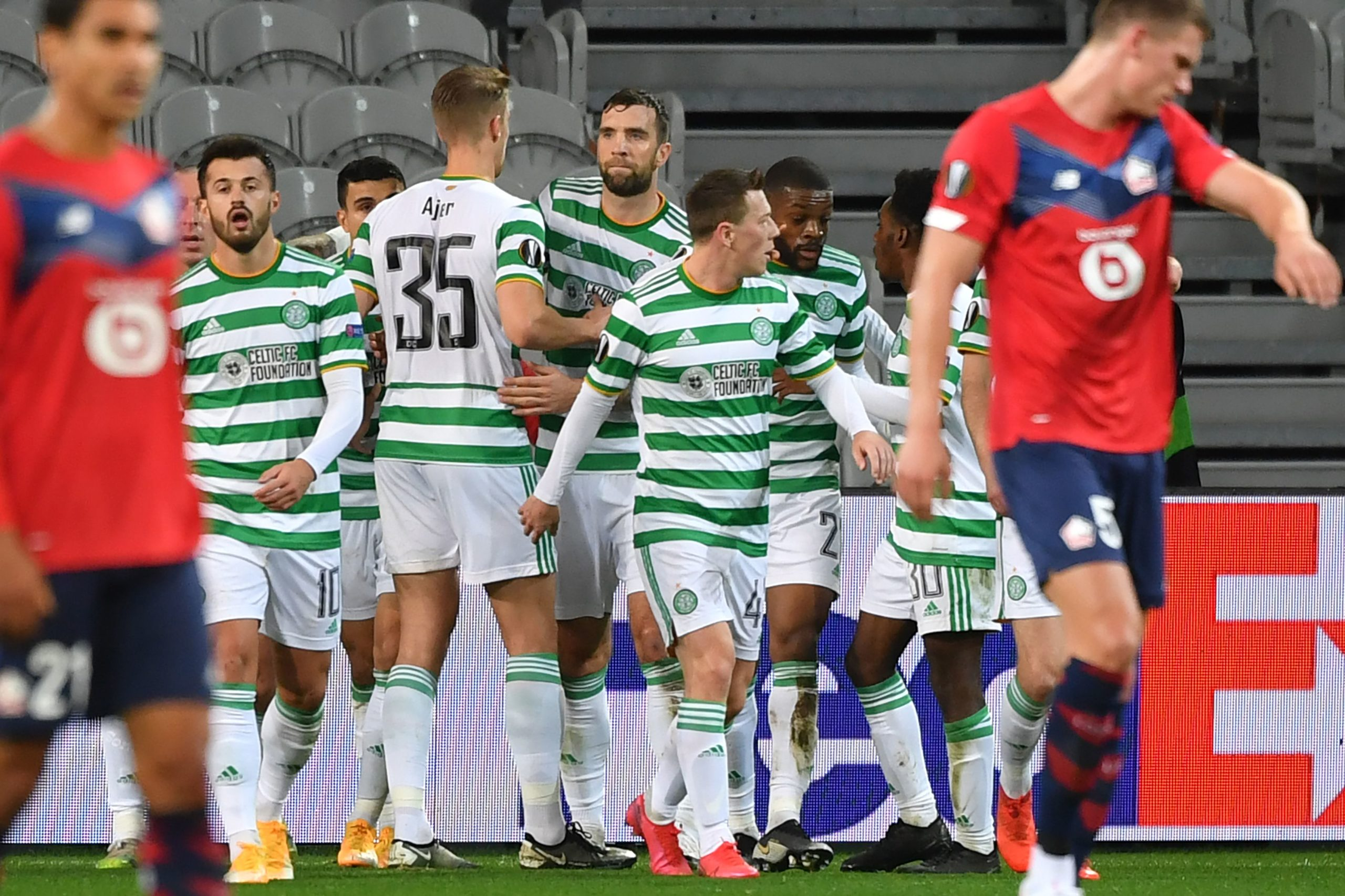 Celtic were really good in Lille