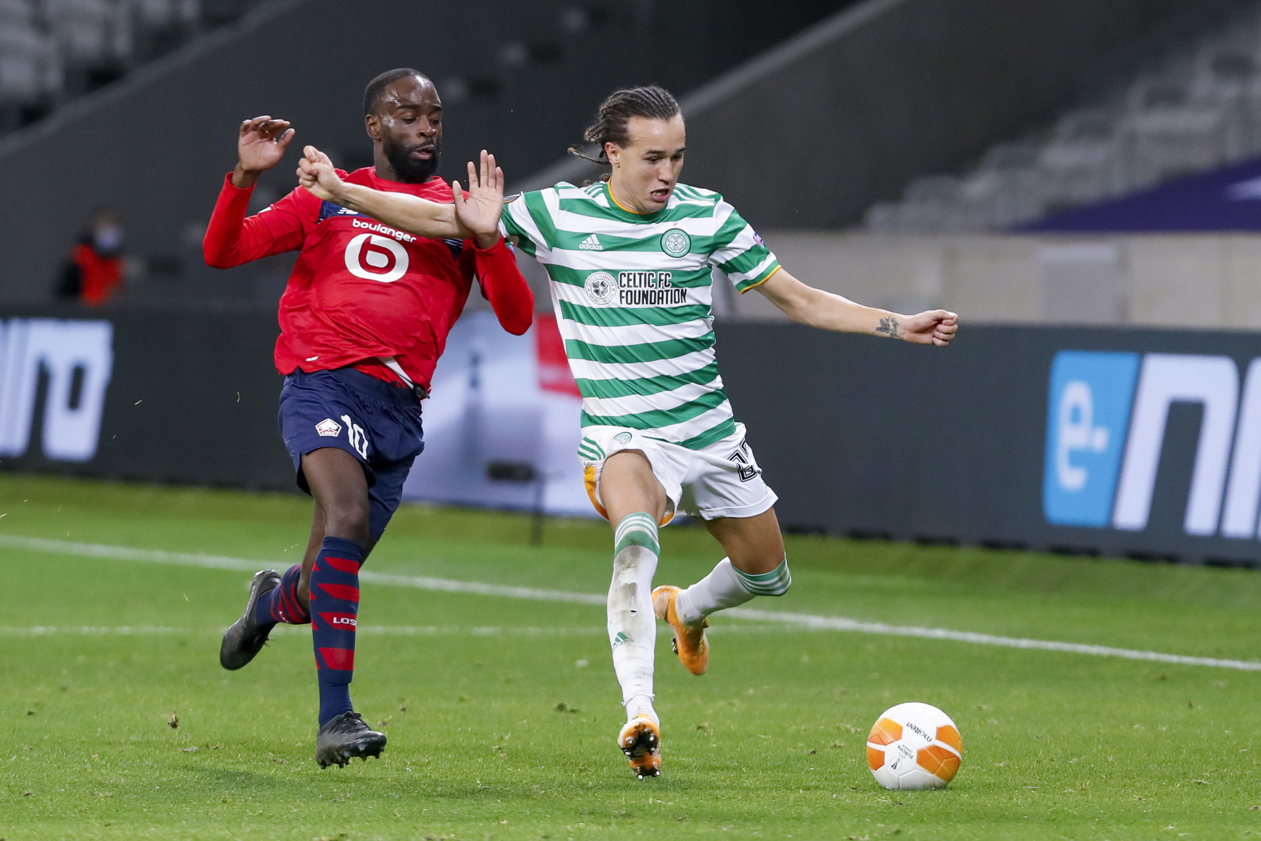 Diego Laxalt in action against Lille