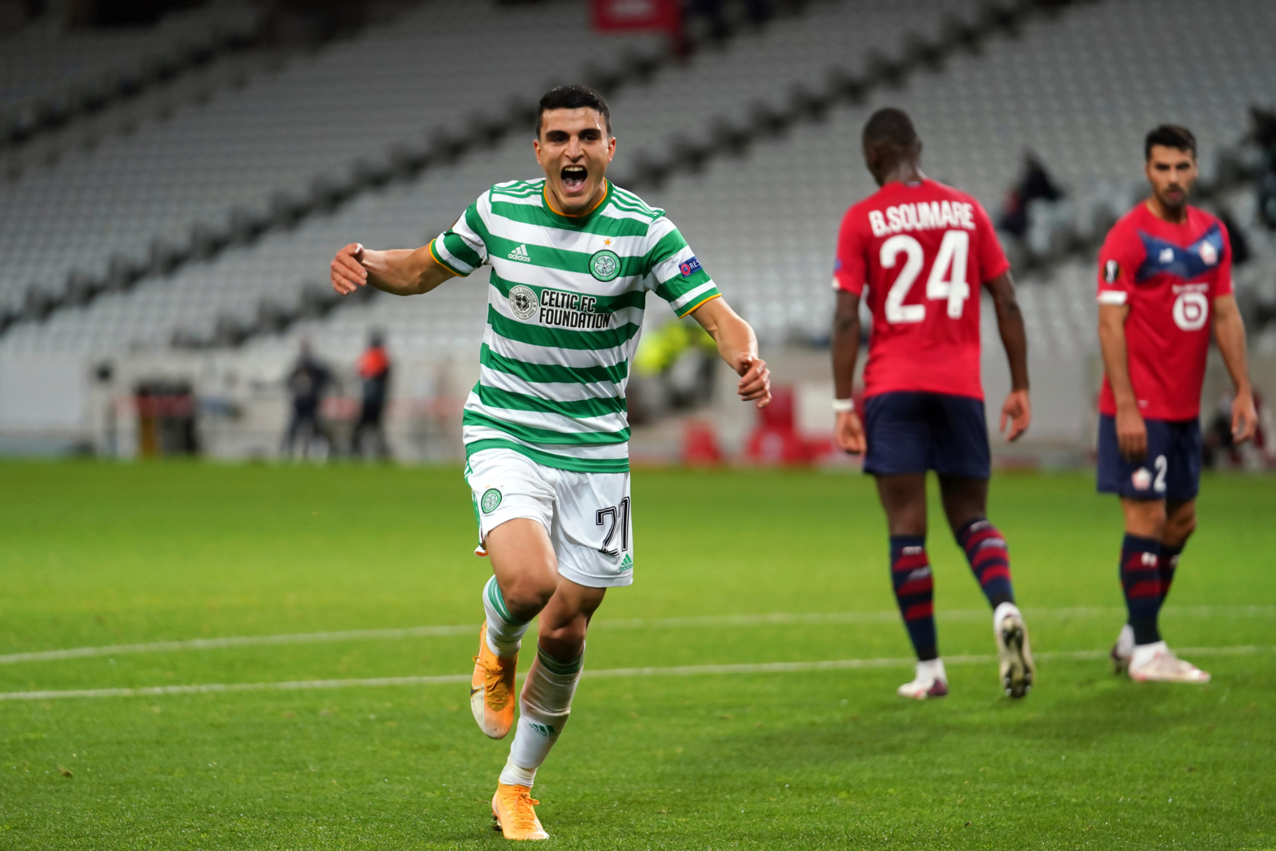 Frimpong set up Elyounoussi's second in France