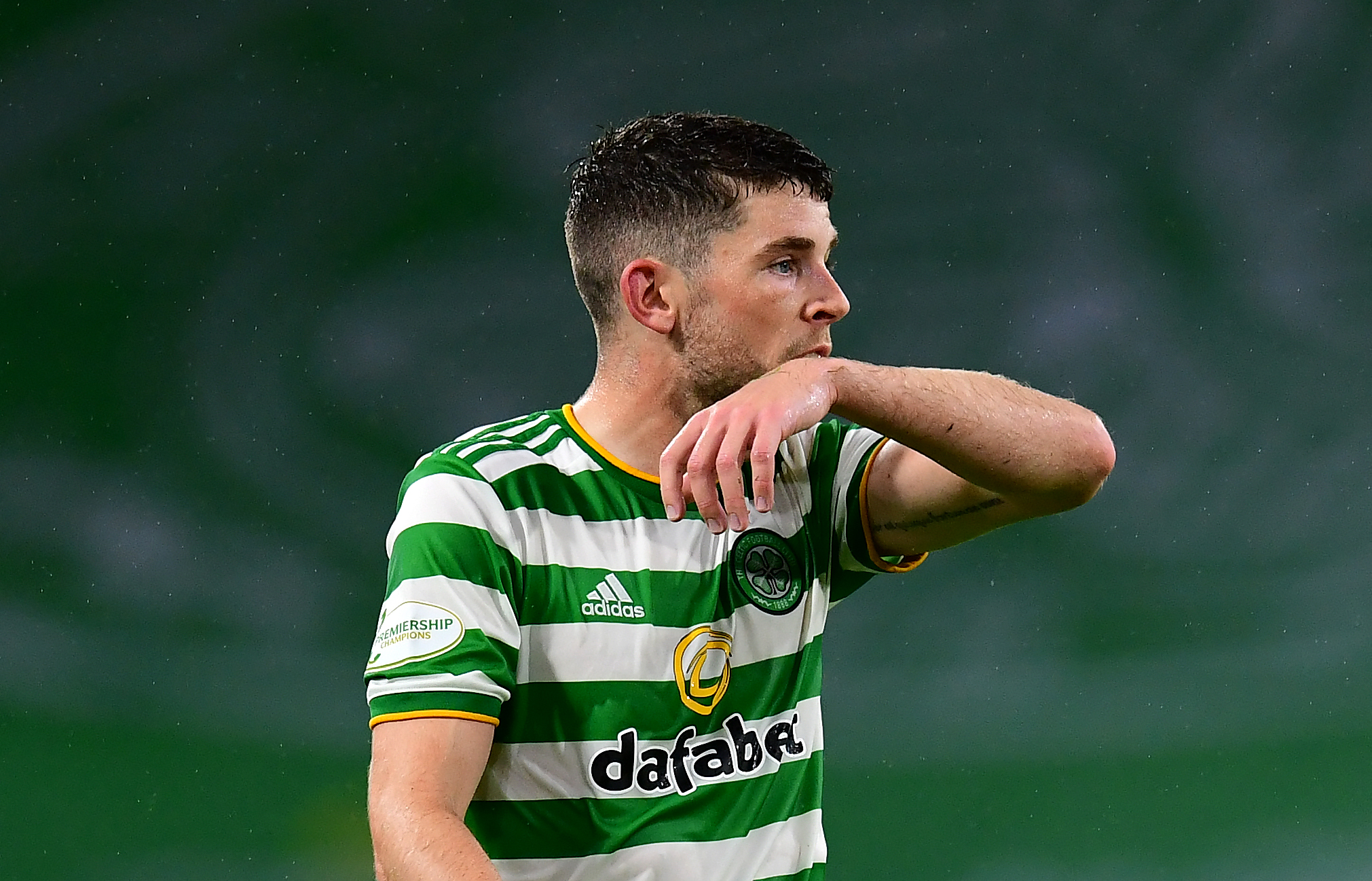 Celtic's Ryan Christie in action