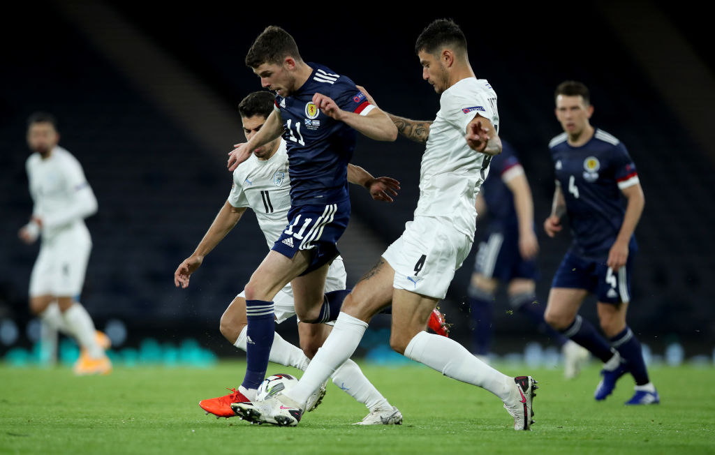 Nir Bitton in action for Israel