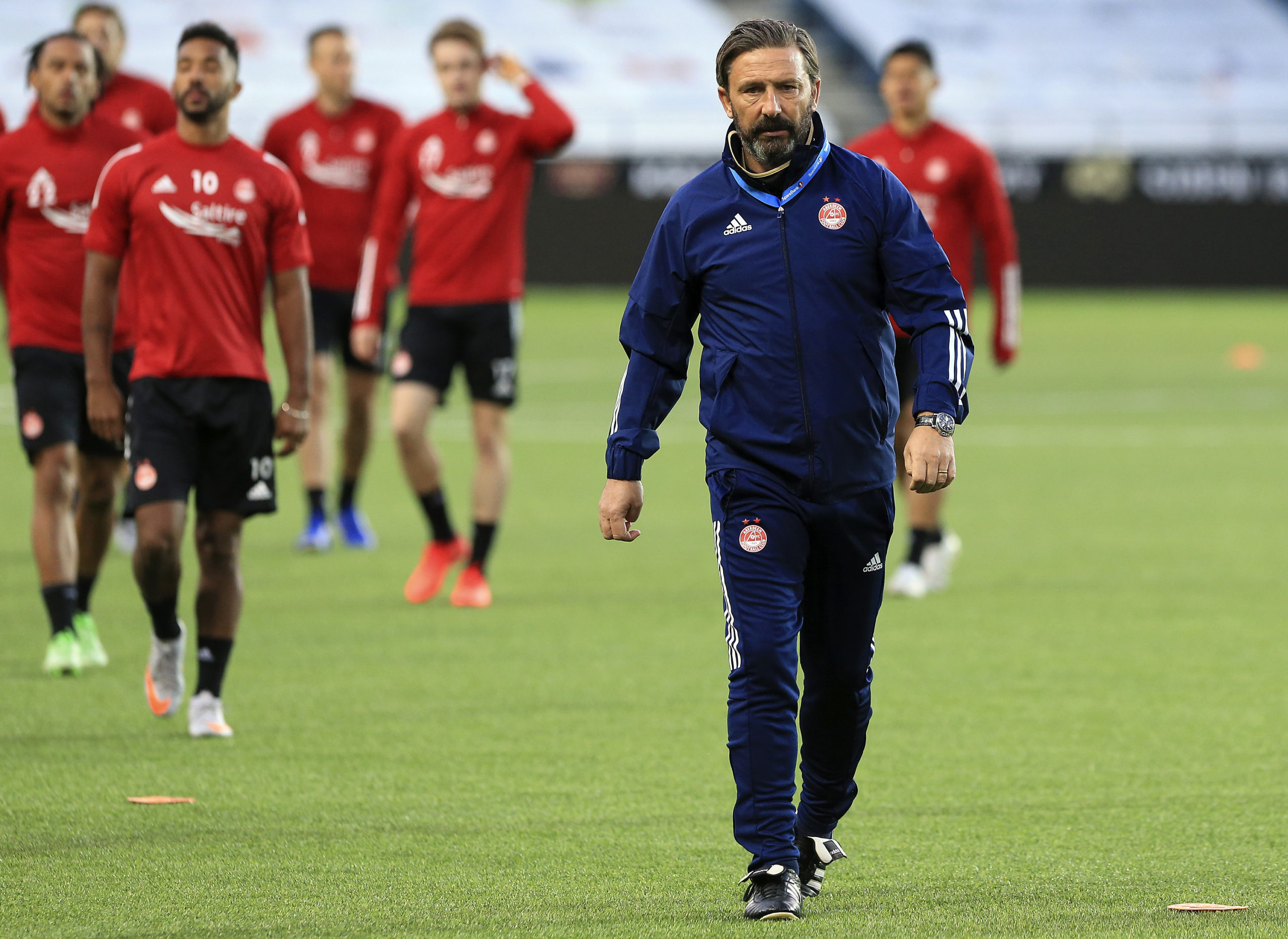 Derek McInnes is working with a patched-up squad