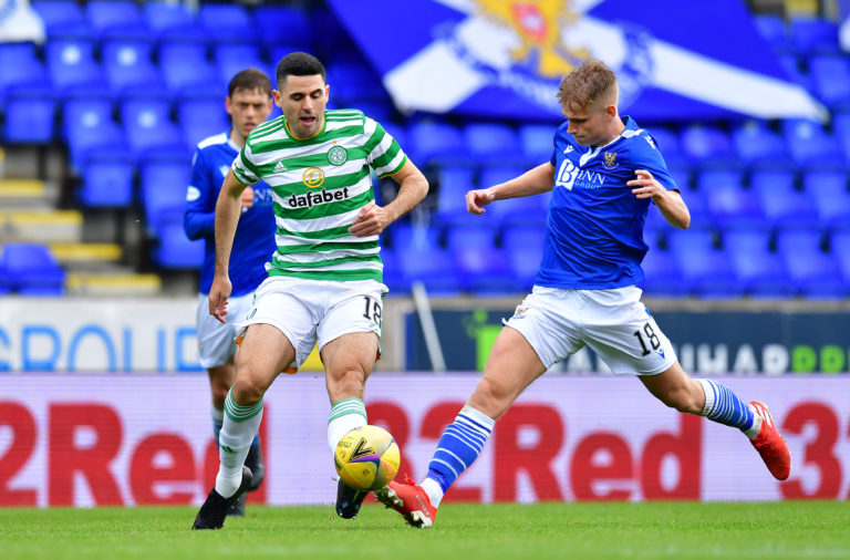 Tom Rogic in action for Celtic