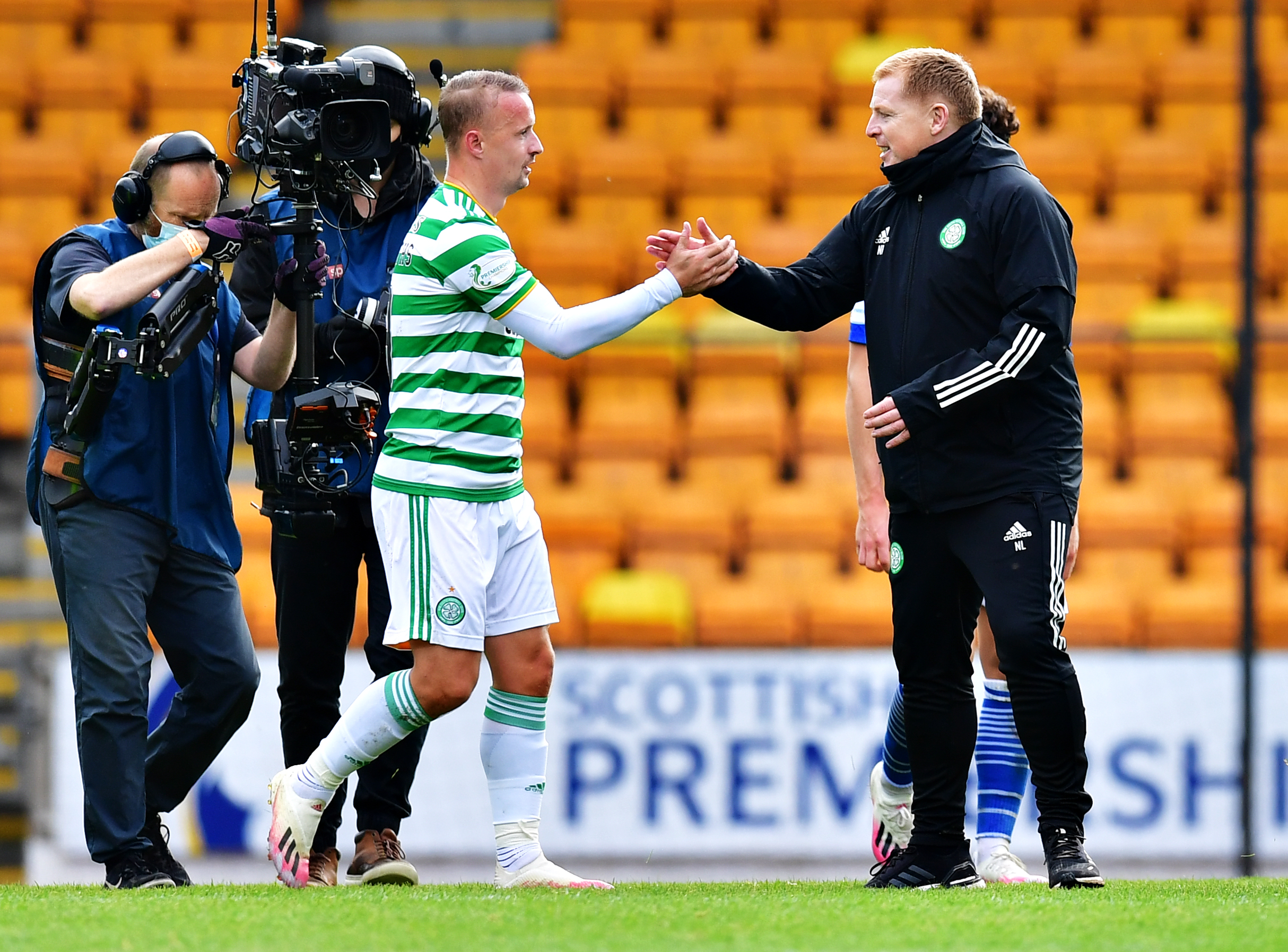 Neil Lennon hails Leigh Griffiths after St Johnstone