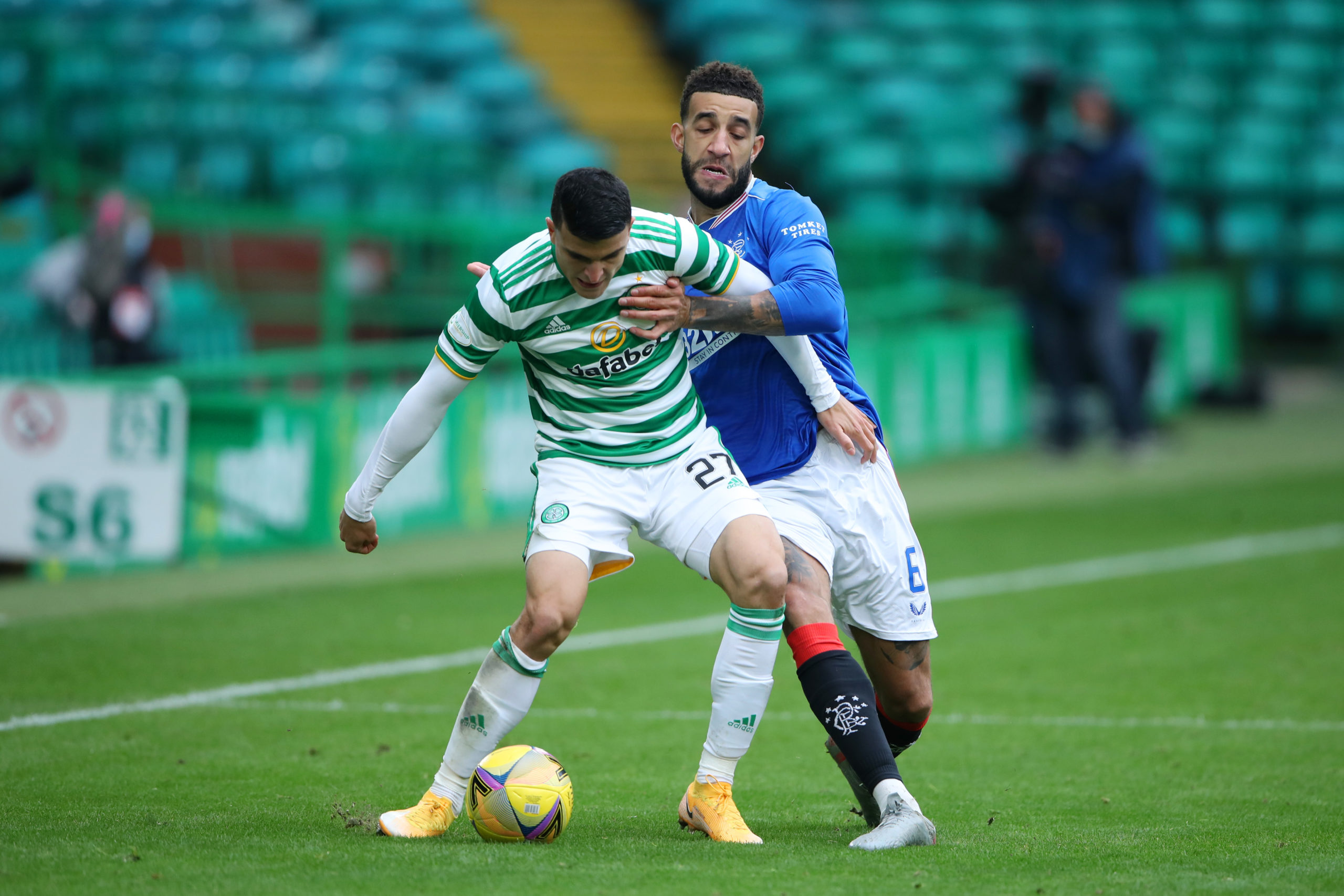 Mohamed Elyounoussi didn't impress against Rangers