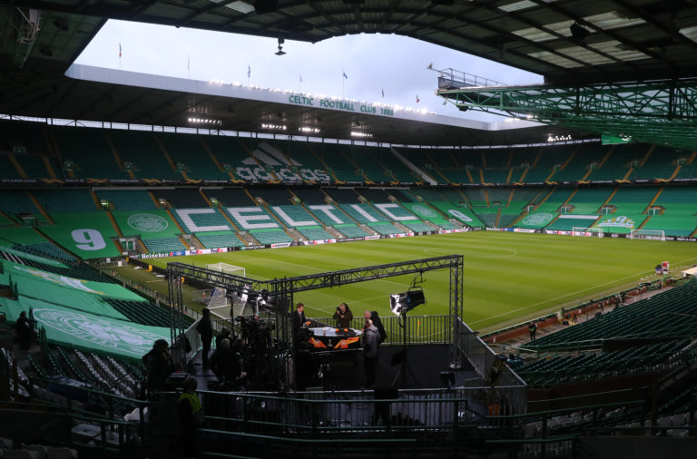 Celtic Park is lifeless without the fans