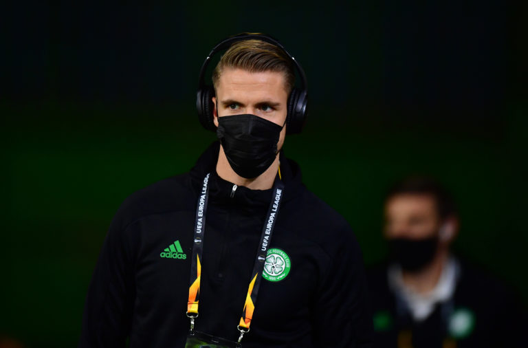 Celtic centre-back Kristoffer Ajer