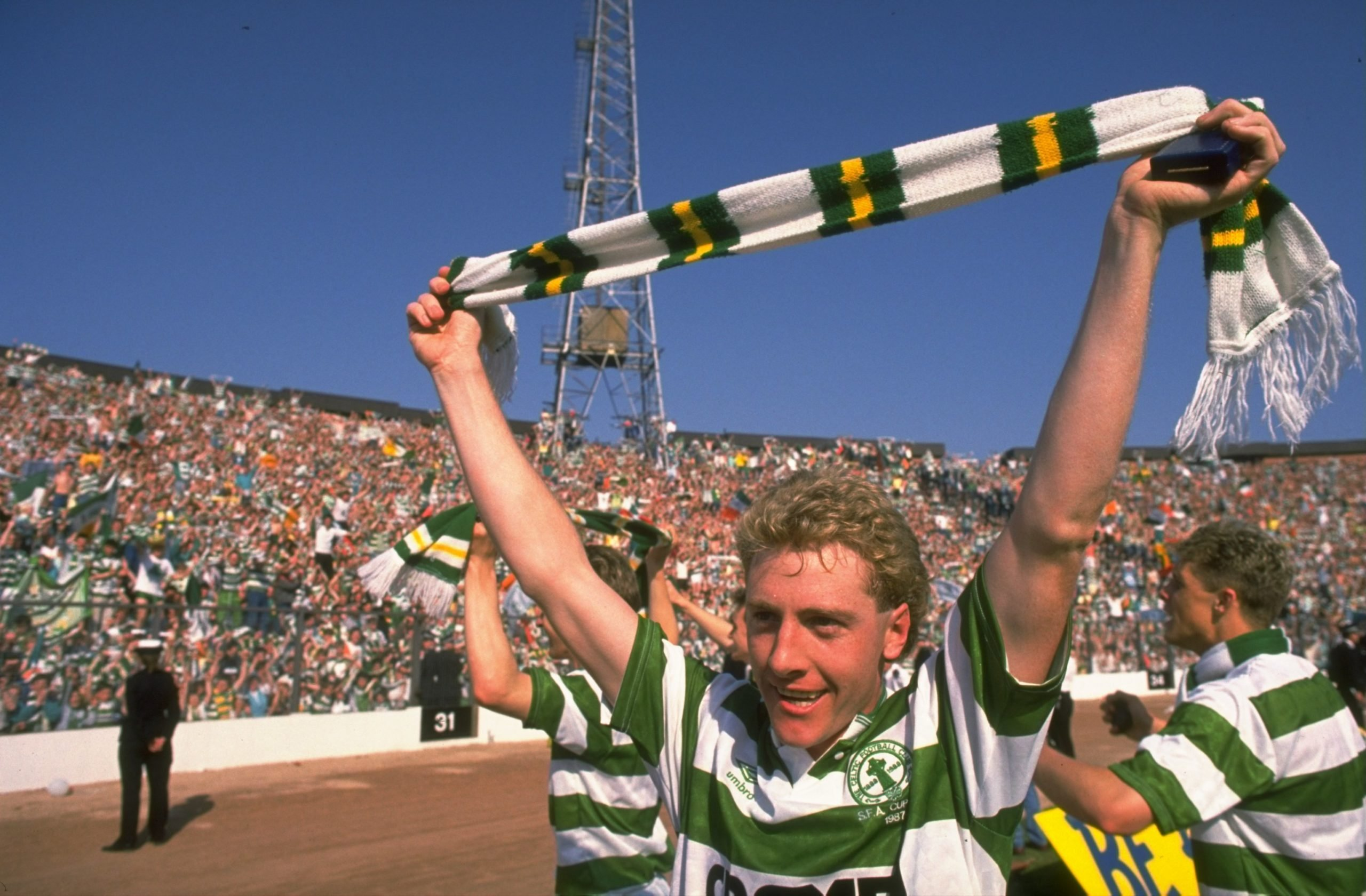 Frank McAvennie, a key member of Celtic's centenary side