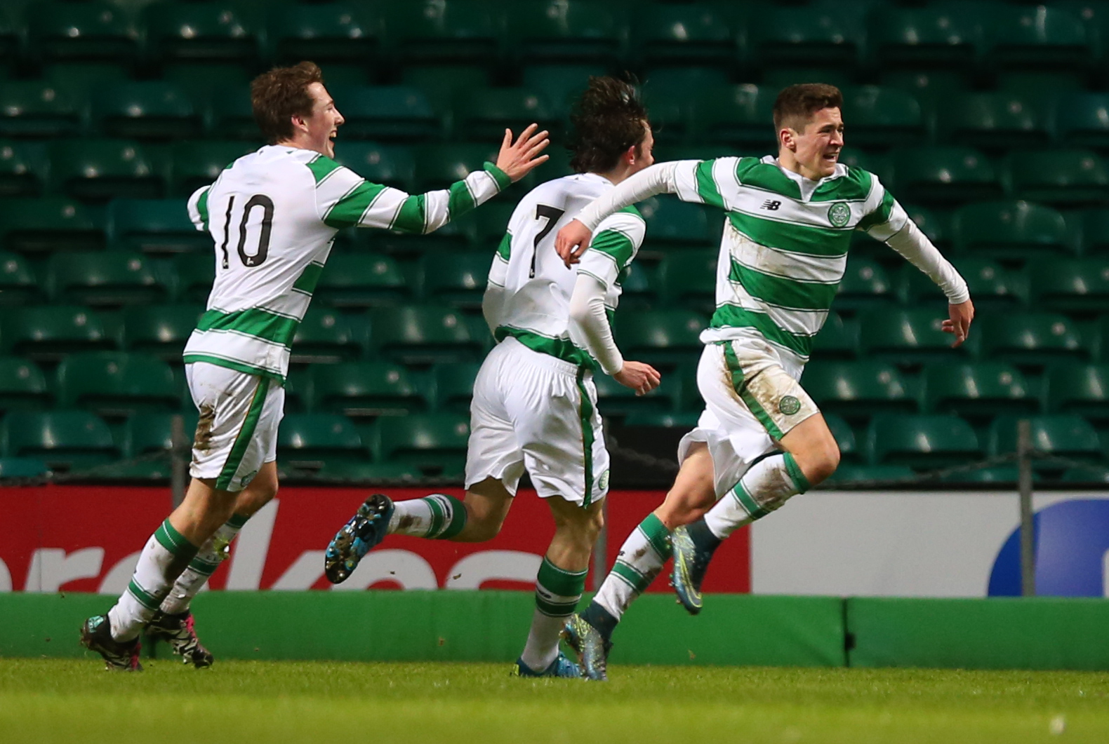 Jack Aitchison as a youngster in the UEFA Youth League