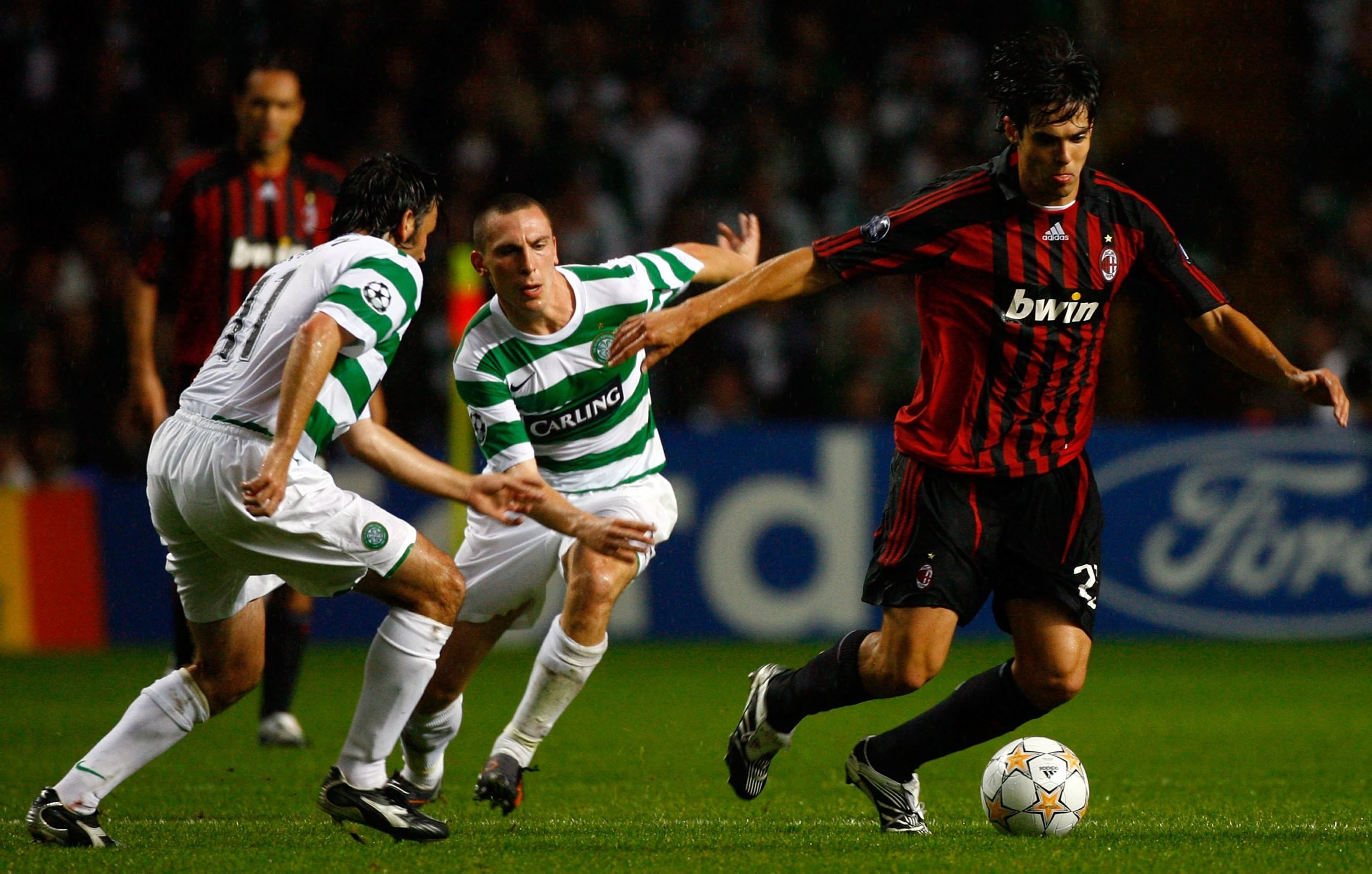 Kaka played at Celtic Park on several occasions