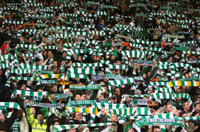 A packed Celtic Park