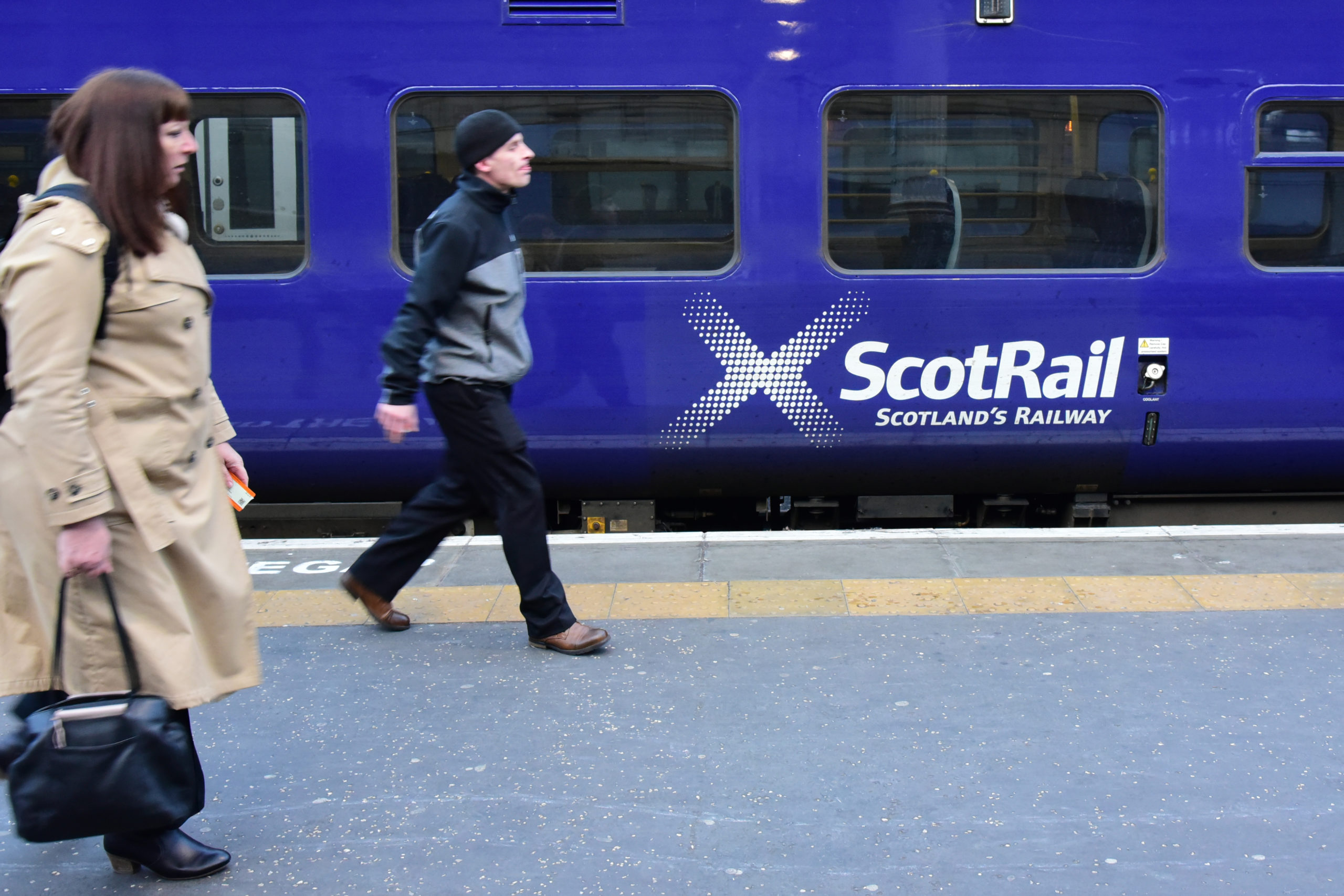 It's no surprise that ScotRail reacted