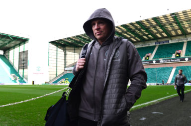 Neil Lennon back at Easter Road