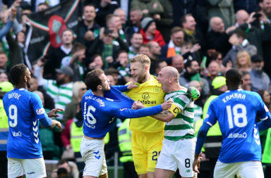 Celtic show up Andy Halliday
