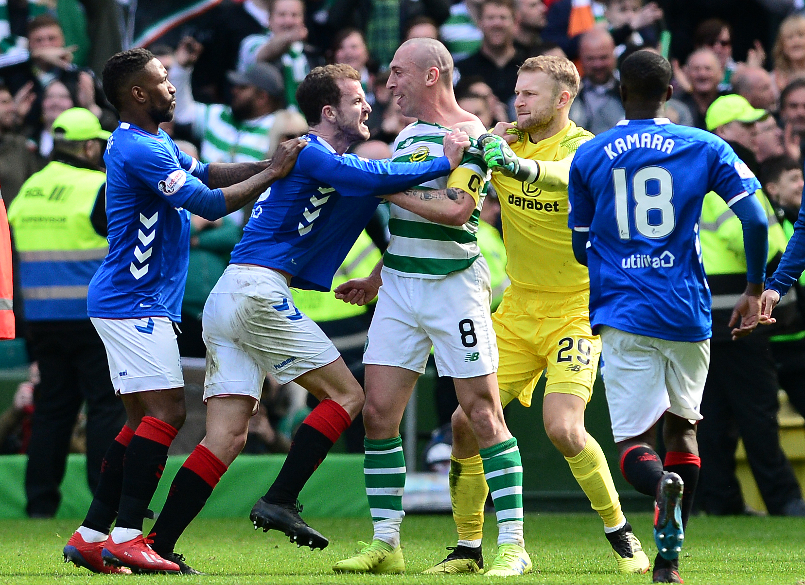 Andy Halliday has been wound up by Celtic before